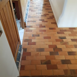Antiqued pamment floor