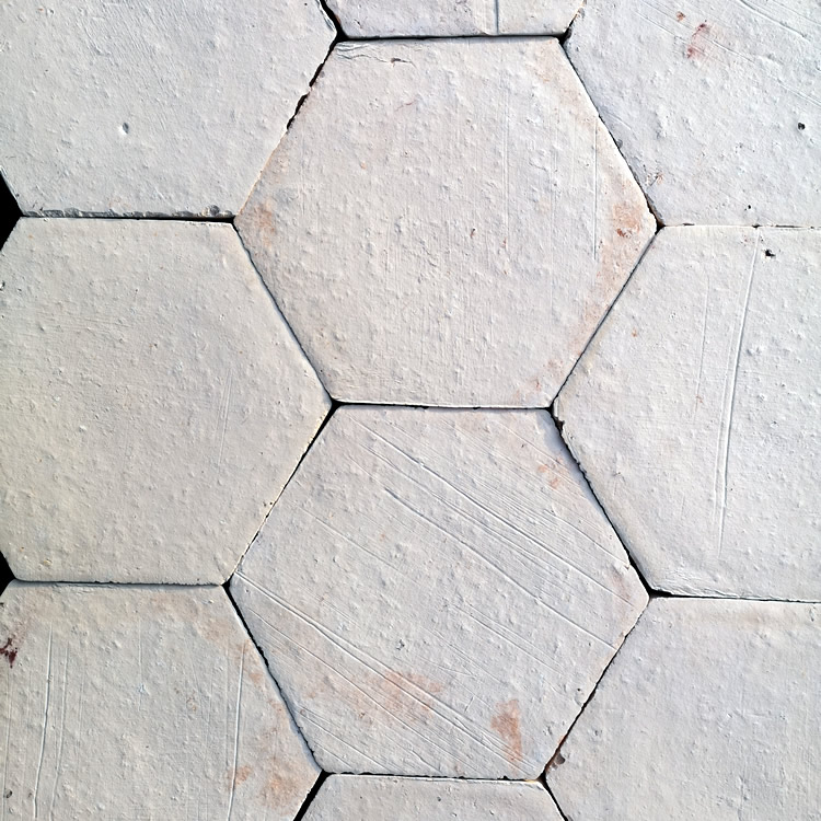 Antique Pale Hexagon